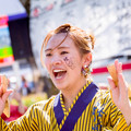 写真: 犬山踊芸祭2017 高知学生 旅鯨人