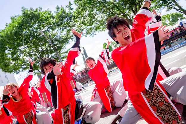 よさこい in おいでん祭2017 浜松学生連 鰻陀羅