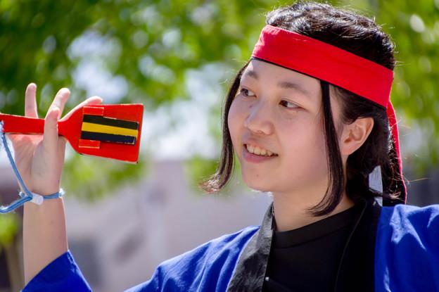 犬山踊芸祭2017 雁道商店街踊り子隊雁舞
