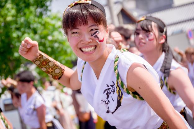 銭形よさこい2017 香川大学よさこい連'風華'