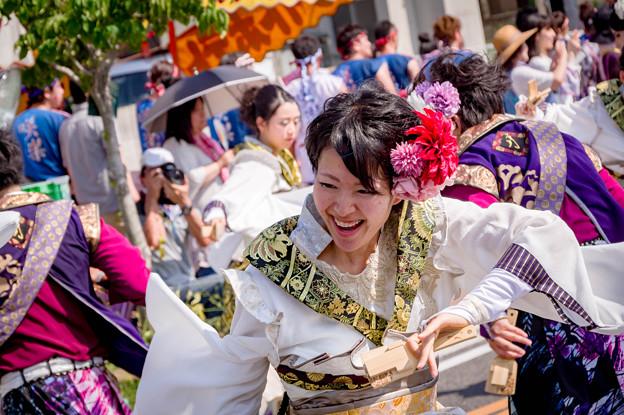 銭形よさこい2017 月下桜舞連