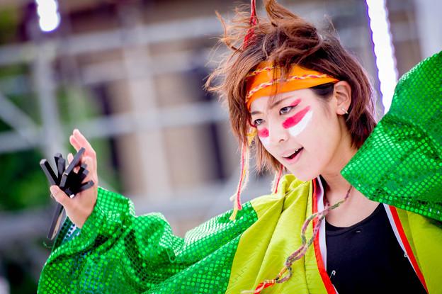 はるえイッチョライでんすけ祭り2017 道楽