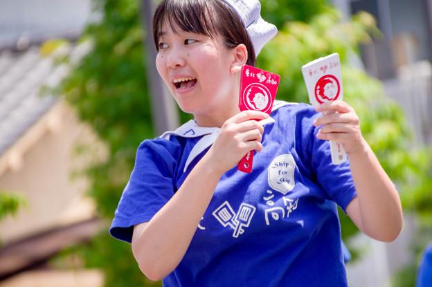 銭形よさこい2017 高知県青年にぎわいボニートfrom3.11