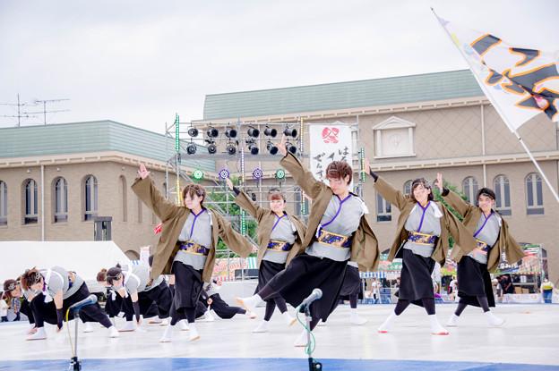 はるえイッチョライでんすけ祭り2017 福井よさこいチーム 紡