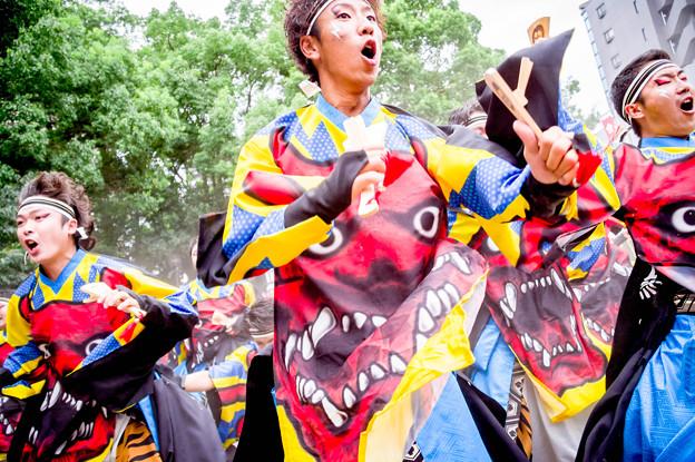 にっぽんど真ん中祭り2017 REDA舞神楽