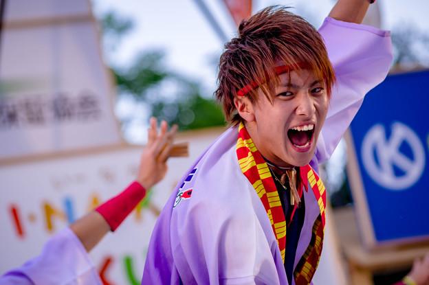 よさこい全国大会2017 朝霞彩夏祭連合チーム関八連