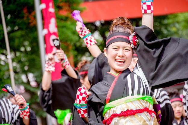 にっぽんど真ん中祭り2017 侍 前田利家ONDO・舞人
