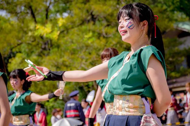 こいや祭り2017 茨城県立医療大学よさこいサークル錦織姫
