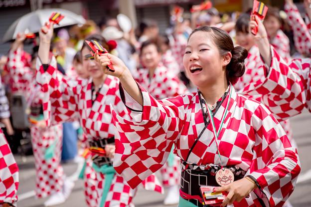 よさこい祭り2017 トヨタカローラ高知株式会社西山グループ