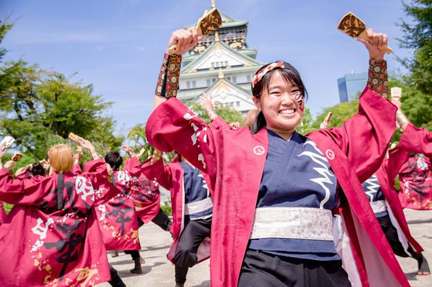 こいや祭り2017 香川大学よさこい連 風華