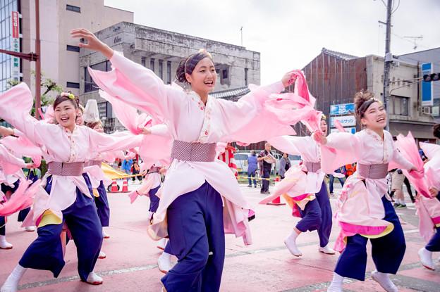 安濃津よさこい2017 中京大学 晴地舞