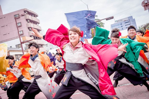 安濃津よさこい2017 四季舞