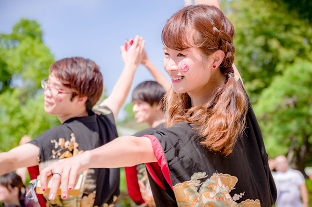 こいや祭り2017 京炎そでふれ!普及チーム