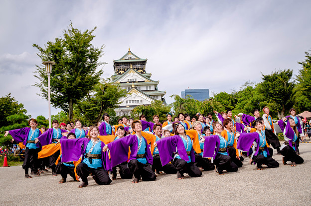 こいや祭り2017 山口大学よさこいやっさん!!