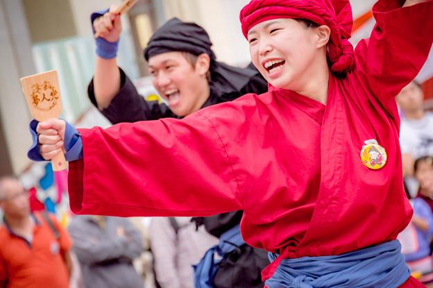 安濃津よさこい2017 YOSAKOIソーラン極楽とんぼリバイバル