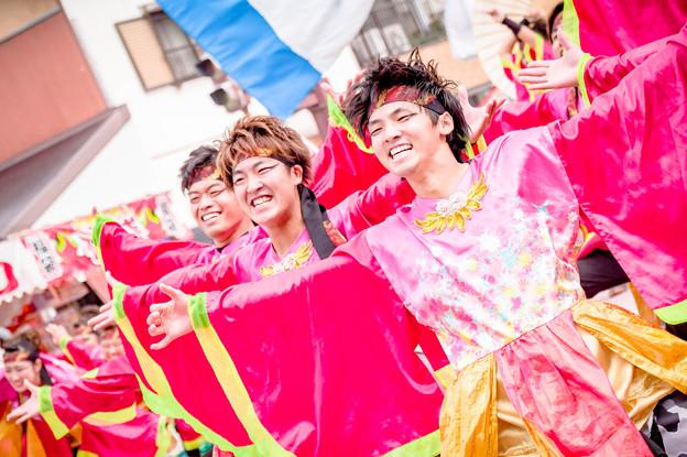 安濃津よさこい2017 愛知淑徳大学鳴踊