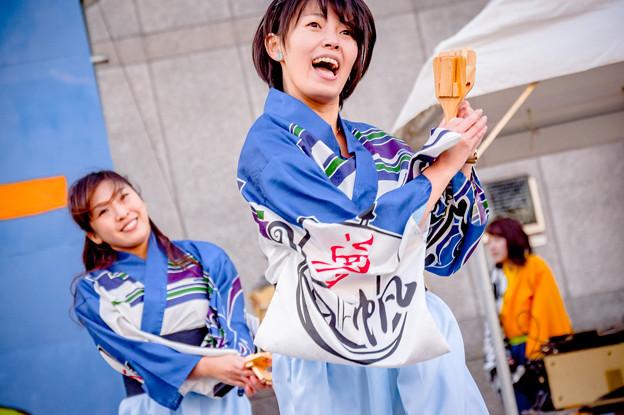 桃食べな祭2017 逢坂夢帆