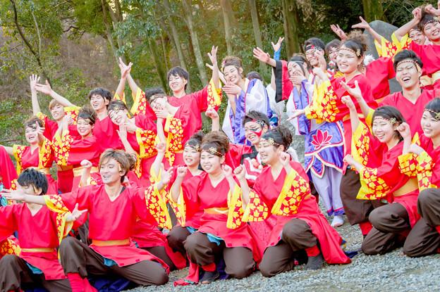 廣田神社初踊り奉納演舞2018 神戸学生よさこいチーム 湊