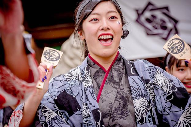 龍馬よさこい2017 京都チーム「櫻嵐洛」