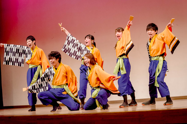 春よ来い!よさこい祭2018 桃山学院大学 よさこい連 真輝-SANAGI-