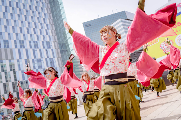 YOSAKOIソーラン祭り2018 実践女子大学同短期大学部YOSAKOIソーラン部 WING