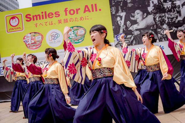 YOSAKOIソーラン祭り2018 宮城学院女子大学よさこい部Possoballare?MG