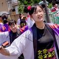 銭形よさこい2018 丸亀南中ボランティア部 京極発幸舞連
