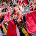 Photos: よさこい祭り2018 菜園場競演場 愛・彩媛