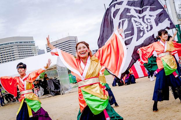 こいや祭り2018 京炎そでふれ!文舞蘭