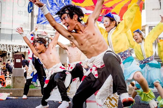 にっぽんど真ん中祭り2018 天狗ぅ