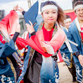 """写真: こいや祭り2018 小樽商科大学""""翔楽舞"""""""