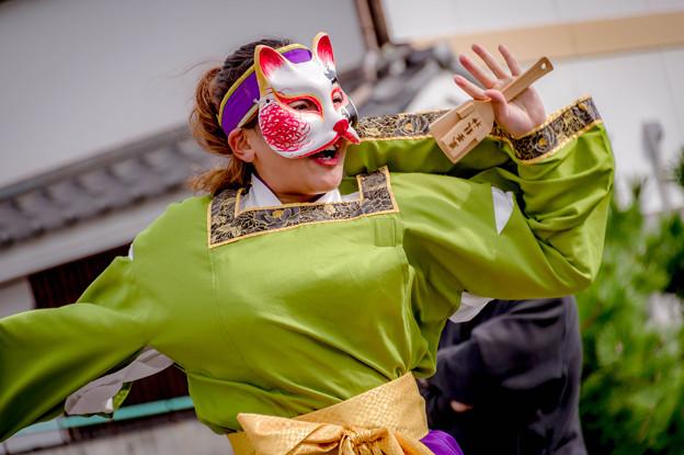 赤穂でぇしょん祭り2018 播磨乃國☆よさこい衆嵐華龍神