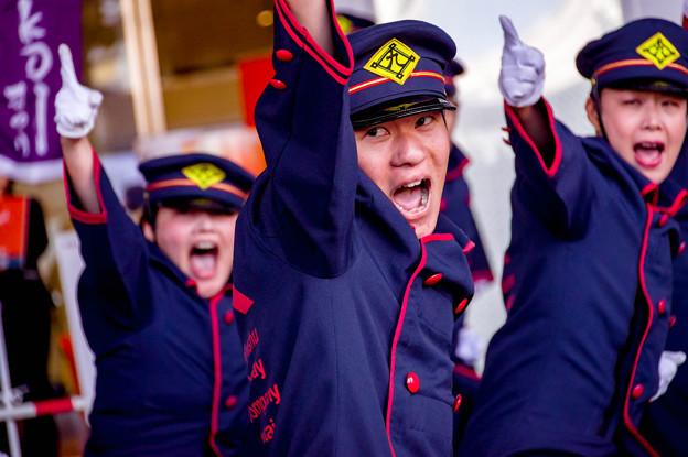 豊の国YOSAKOIまつり2018 JR九州櫻燕隊