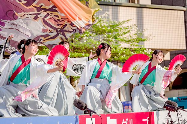 Photos: 踊っこまつり2019 クラーク高校 「百花繚乱」