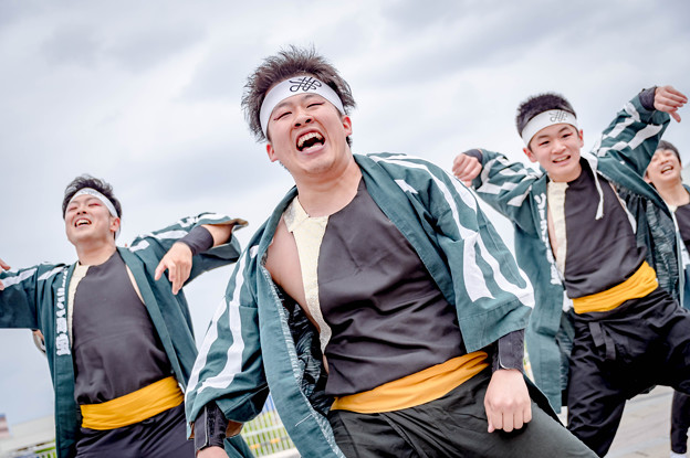 堺よさこいかえる祭り2019 ソーラン隊「宝」