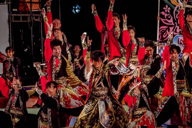 YOSAKOIソーラン祭り2019 よさこい炎舞連『神陽~Sin~』