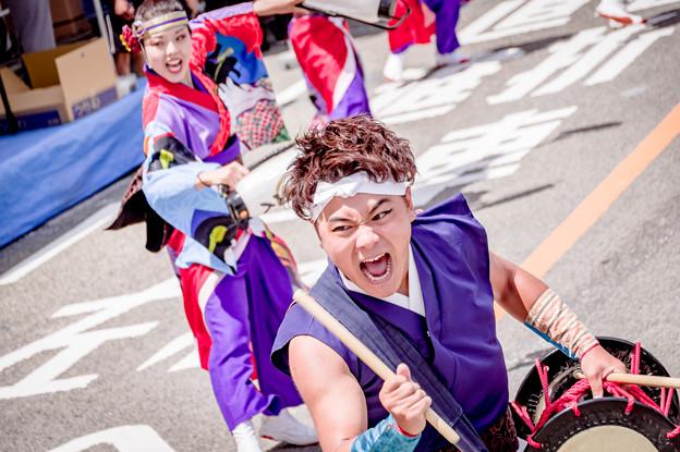 よさこい祭り2019 さぬき舞人 秦演舞場