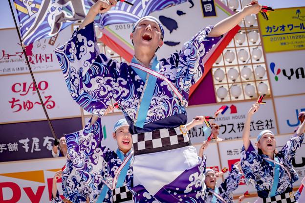 よさこい全国大会2019 祭三代・IKU!
