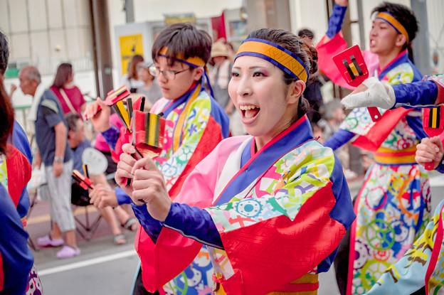 よさこい祭り2019 絆笑舞心~大手前高松ダンス部~ 愛宕競演場