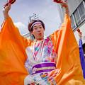 Photos: よさこい祭り2019 上町競演場 高知県よさこいアンバサダー絆国際チーム