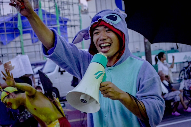 よさこい祭り2019 高知大学南溟寮 愛宕競演場