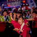 よさこい祭り2019 高知県立農業大学校 愛宕競演場