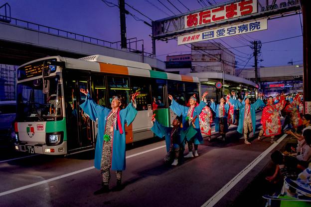 よさこい祭り2019 安芸東陣 愛宕競演場