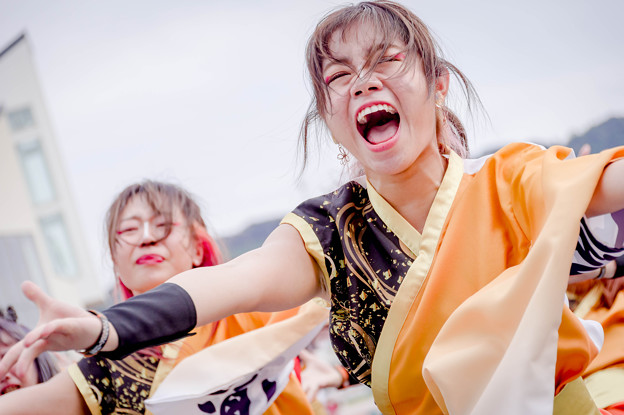 YOSAKOIさせぼ祭り2019 APU よっしゃ虎威