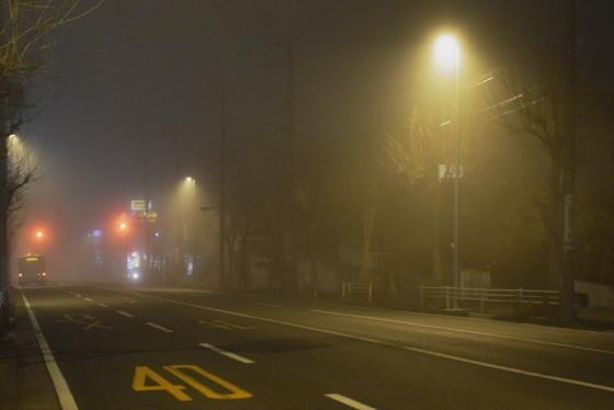 写真: 霧の東戸塚02