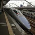 写真: 新幹線なう