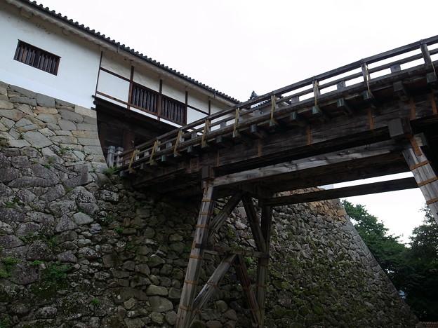 廊下橋と天秤櫓