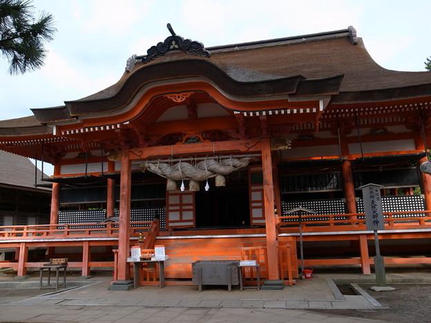 日御碕神社の本殿