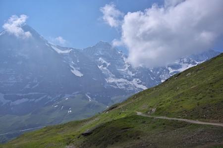 スイスでハイキング♪