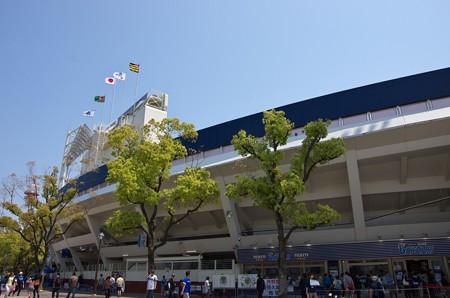 久々の横浜スタジアム